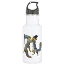 Dancing Squirrels Water Bottle