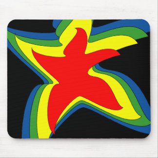 dancing star mouse pad