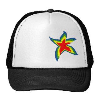 dancing star trucker hat