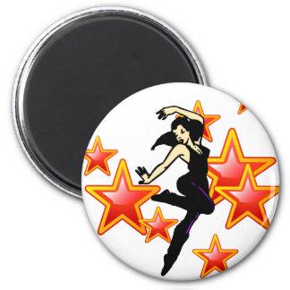Dancing Stars Magnet