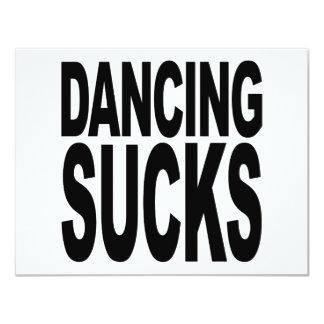 Dancing Sucks Card