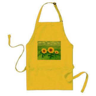 Dancing Sunflower Apron