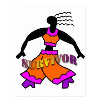 Dancing Survivor Postcard