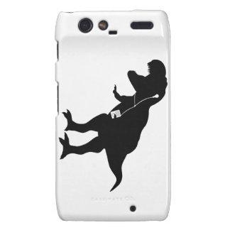 Dancing T-Rex design Droid RAZR Covers