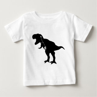 Dancing T-Rex design Infant T-shirt