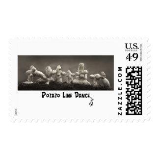 Dancing Taters Stamp