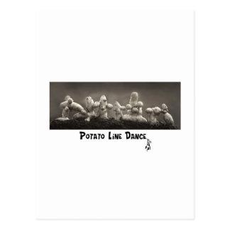 Dancing Taters Postcard