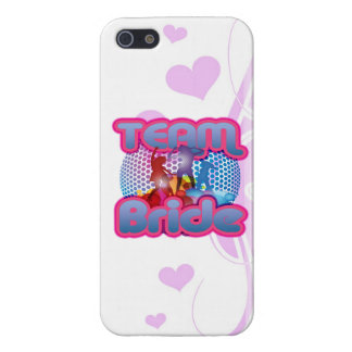 Dancing team bride blue wedding bridal party cover for iPhone 5