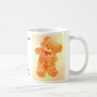 Dancing Teddy Bear CricketDiane Art & Design Coffee Mug