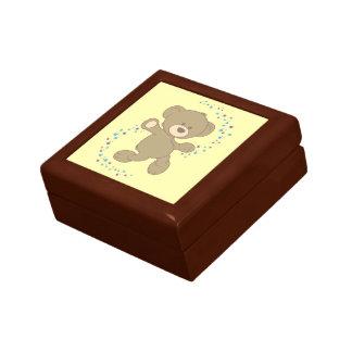 Dancing Teddy Bear Jewelry Box