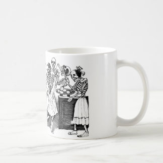 """""""Dancing the Jarabe in the Other World"""" Coffee Mugs"""