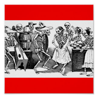 Dancing the Jarabe in the Other World Print