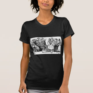 """Dancing the Jarabe in the Other World"" T Shirts"