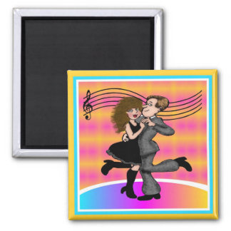 Dancing the Night Away Refrigerator Magnets