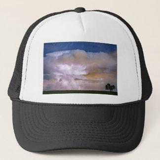 Dancing Thunderstorm on The Horizon Trucker Hat