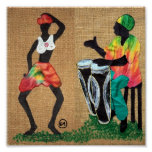 Dancing to Drums Poster