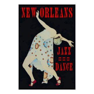 Dancing  to Jazz 2016 Orleans Poster