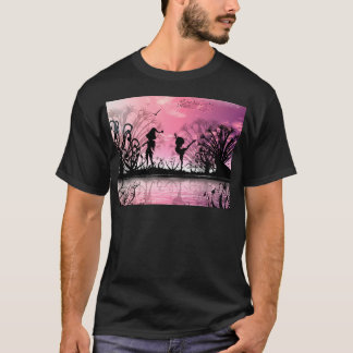 Dancing to violin music T-Shirt