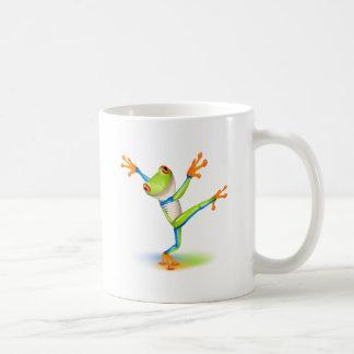 Dancing Tree Frog Coffee Mug