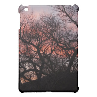 Dancing Tree Skeletons at Sunset iPad Mini Cases