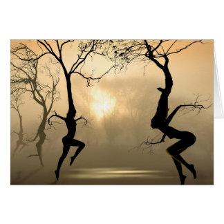Dancing Trees Card