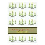 Dancing Trees Holiday Invitation