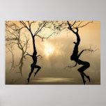 Dancing Trees Print