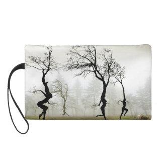 Dancing Trees Small Bag Wristlet Purses