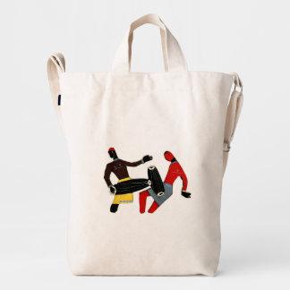 Dancing Tribal Custom BAGGU Duck Bag,Canvas Duck Bag