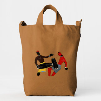 Dancing Tribal Custom BAGGU Duck Bag, Chestnut Duck Bag