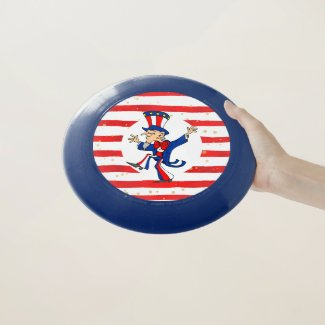 Dancing Uncle Sam Wham-O Frisbee