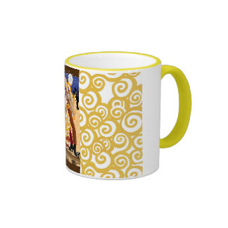 Dancing under the mirrorball ringer coffee mug