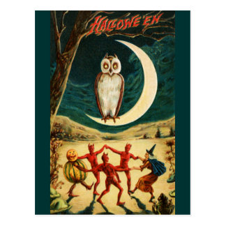 Dancing under the Moon Postcard