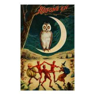 Dancing under the Moon Poster