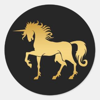 Dancing Unicorn Silhouette Sticker