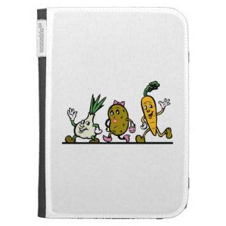 Dancing Vegetables Kindle Keyboard Case