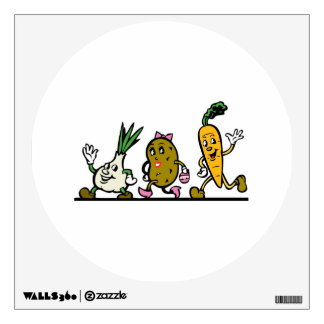Dancing Vegetables Room Graphic