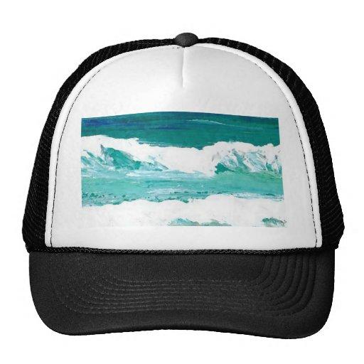 Dancing Waves - cdcp08 Trucker Hat
