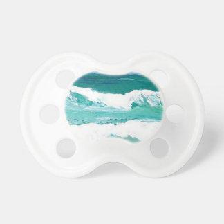 Dancing Waves Ocean Sea Waves Art Gifts Pacifier