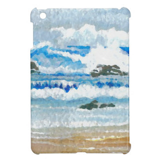 Dancing Waves on the Rocks Ocean Seascape iPad Mini Cover