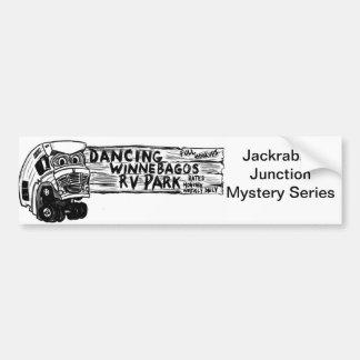 Dancing Winnebago Bumper Sticker Car Bumper Sticker