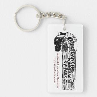 Dancing Winnebago Key Chain