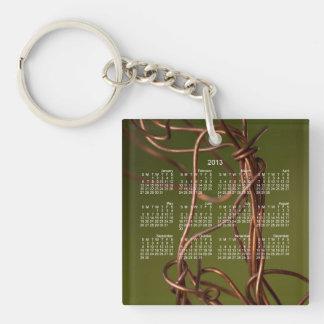 Dancing Wires; 2013 Calendar Keychain