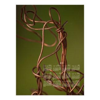 Dancing Wires; 2013 Calendar Photo