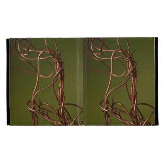 Dancing Wires iPad Folio Cases