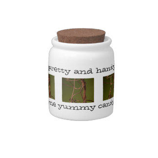 Dancing Wires; Customizable Candy Jars