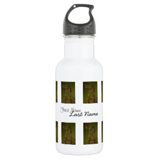 Dancing Wires; Customizable Stainless Steel Water Bottle