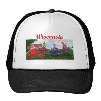 Dancing Wisconsin Dairy Cows Trucker Hat