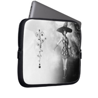 Dancing Witch Electronics Bag Computer Sleeve