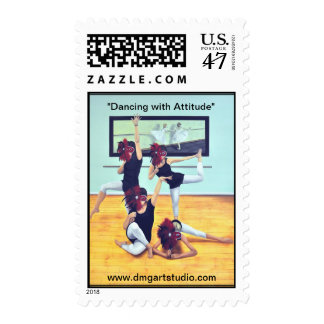 """""""Dancing with Attitude"""" Postage"""